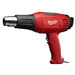 Milwaukee 8975-6 HEAT GUN 11.6A temperature ranges