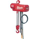 Milwaukee 9572 Hoist 2 Ton Electric Chain Hoist 15 Ft