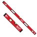 "Milwaukee MLBXS1648 16"", 48"" Redstick Box Level Set"