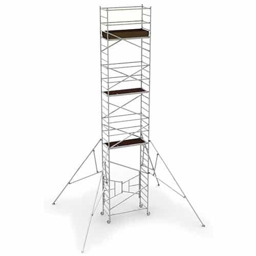 MetalTech AL-Q0108 31 ft x 2.6 ft x 5.4 ft Scaffold Tower