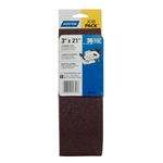 Norton 07660701741 Metalite R215/R255 AO Extra Coarse Grit Cloth Portable Belt, 3x21 in.