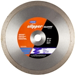 Norton 07660702784 10 in. Clipper Classic Natural Stone Wet Continuous Rim Tile Blade