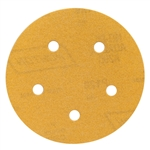 Norton 07660749217 Hook and Sand A250/A290 AO Coarse Grit Paper H&L Vacuum Disc, 5 in. P540