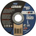Norton 66252823602 Gemini RightCut A AO Type 01/41 Right Angle Cut-Off Wheel, 4-1/2 x .045 in.
