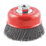 Norton 66252839121 Crimped Wire Cup Brush 1-1/8 in. L Trim