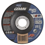 Norton 66252842026 Gemini RightCut A AO Type 27/42 Cutting Wheel, 4-1/2 in. x .045 in.