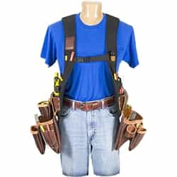Occidental Leather 2550LH SuspendaVest Leather Package - Left Handed Best Tool Belt Systems Made in America