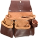 Occidental Leather 5017DB - 3 Pouch Pro Tool Bag