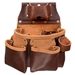 Occidental Leather 5018DB 3 Pouch Pro Tool Bag Best Tool Belt Systems Made in America