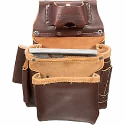 Occidental Leather 5061LH 2 Pouch Pro Fastener Bag - Left Handed Best Tool Belt Systems Made in America