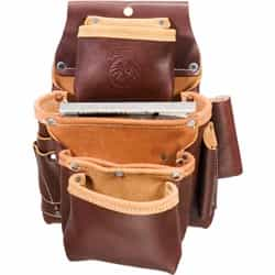 Occidental Leather 5062 4 Pouch Pro Fastener Bag Best Tool Belt Systems Made in America