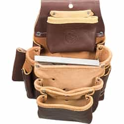 Occidental Leather 5062LH 4 Pouch Pro Fastener Bag - Left Handed Best Tool Belt Systems Made in America