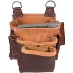 Occidental Leather 5063 3 Pouch Beltless Fastener Bag
