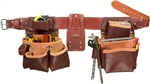 Occidental Leather 5080DBLH XXL Pro Framer Set with Double Outer Bag - Left Handed Best Tool Belt Systems Made in America