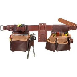 Occidental Leather 5089 SM Seven Bag Framer Best Tool Belt Systems Made in America