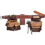 Occidental Leather 5089LH XXL Seven Bag Framer - Left Handed Best Tool Belt Systems Made in America