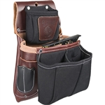 Occidental Leather 5564 Belt Worn Fastener Bag w/Divided Nylon DB Best Tool Belt Systems Made in America