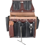 Occidental Leather 5589 Electrician's Tool Case Best Tool Belt Systems Made in America