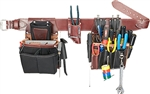 Occidental Leather 5590 XL Commercial Electrician's Set Best Tool Belt Systems Made in America