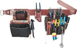 Occidental Leather 5590 XXL Commercial Electrician's Set Best Tool Belt Systems Made in America