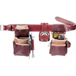 Occidental Leather 6100T XL Pro Trimmer with Tape Best Tool Belt Systems Made in America