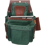 Occidental Leather 8062 OxyLights 4 Pouch Fastener Bag Best Tool Belt Systems Made in America