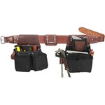 Occidental Leather 8086LH XXL OxyLights Ultra Framer - Left Handed Best Tool Belt Systems Made in America