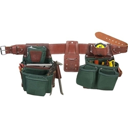 Occidental Leather 8089 XL OxyLights 7 Bag Framer Set Best Tool Belt Systems Made in America