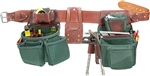 Occidental Leather 8089LH XXL OxyLights 7 Bag Framer Set - Left Best Tool Belt Systems Made in America