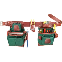 Occidental Leather 8585 XL Heritage FatLip Tool Bag Set  Best Tool Belt Systems Made in America