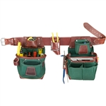 Occidental Leather 8585LH M Heritage FatLip Tool Bag Set - Left Best Tool Belt Systems Made in America