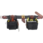 Occidental Leather 9525LH LG The Finisher Set - Left Handed Best Tool Belt Systems Made in America