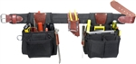 Occidental Leather 9525LH XL The Finisher Set - Left Handed Best Tool Belt Systems Made in America