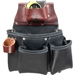 Occidental Leather B5018DBLH 3 Pouch Pro Tool Bag - Black Best Tool Belt Systems Made in America