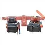 Occidental Leather B5080DB XXL Pro Framer Set - Black Best Tool Belt Systems Made in America
