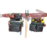 Occidental Leather B5625 XXXL Green Building Framer Set - In Black  Best Tool Belt Systems Made in America