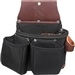 Occidental Leather B8017DB OxyLights 3 Pouch Tool Bag Best Tool Belt Systems Made in America