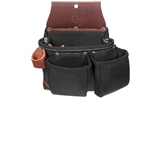 Occidental Leather B8017DBLH OxyLights 3 Pouch Tool Bag - Left Handed Best Tool Belt Systems Made in America