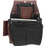 Occidental Leather B8064LH OxyLights Fastener Bag with Double Outer Bag - Left Handed Best Tool Belt Systems Made in America