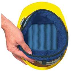 Occunomix 919-018 Miracool Terry Hard Hat Cooling Liner