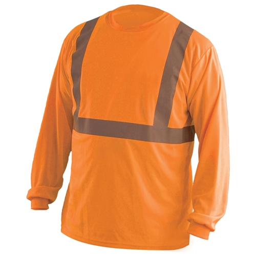 Occunomix Lux Set Type R Class 2 Mesh Safety Shirt Orange
