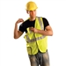 Occunomix LUX-SSBRP Solid 5-pt. Break Away Class II Safety Vest