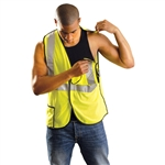 Occunomix LUX-SSBRPC Mesh 5-pt. Break-away Safety Vest