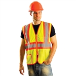 Occunomix LUX-SSCLC2Z Mesh Two-Tone Class 2 Safety Vest