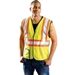 Occunomix LUX-SSCOOL2 Premium Mesh Two-Tone Safety Vest