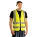 Occunomix LUX-SSFS Solid Dual Stripe Surveyor Safety Vest