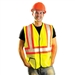 Occunomix LUX-SSG2T Solid Two Toned Saftey Vest