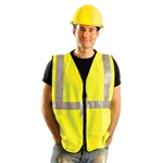 Occunomix LUX-SSGZ Premium Solid Safety Vest