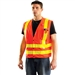 Occunomix LUX-SSLDMS Premium Mesh Gloss Snaps Safety Vest
