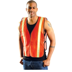 Occunomix LUX-XTTM Value Two Toned Safety Mesh Vest